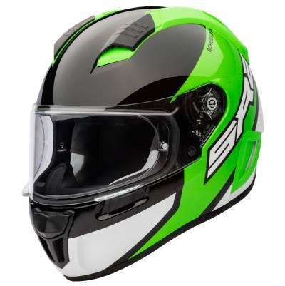 Schuberth Helm SR2 Wildcard Green, schwarz-weiß-grün