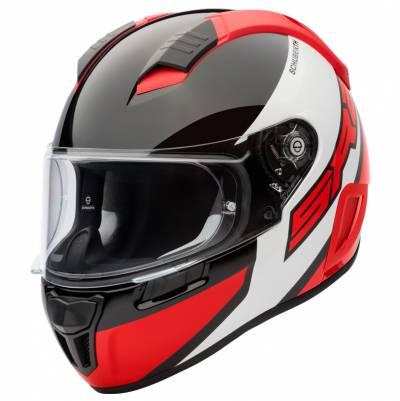 Schuberth Helm SR2 Wildcard Red, schwarz-weiß-rot