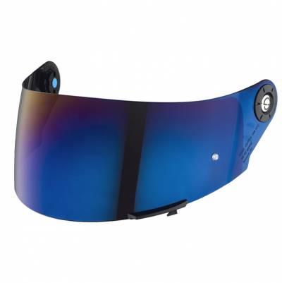 Schuberth Visier für SR2, blau verspiegelt