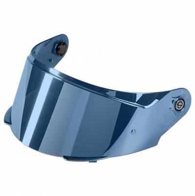 Schuberth Visier für SR2,  (Tear-Off geeignet), blau verspiegelt, antifog vorbereitet