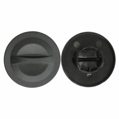 Schuberth Visierabdeckung E1 Bajonettverschluss Set, schwarz