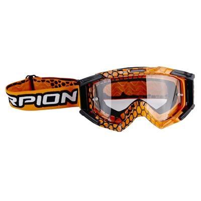 Scorpion Brille Lunette E16, orange-schwarz