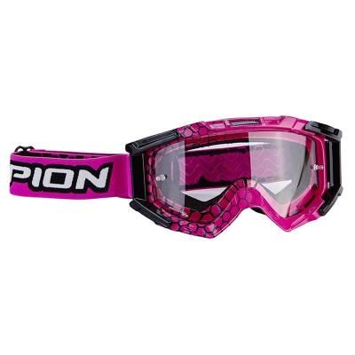Scorpion Brille Lunette E16, pink-schwarz