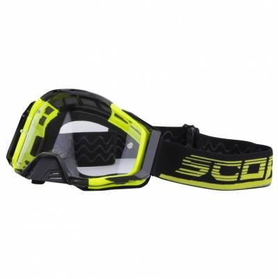Scorpion Crossbrille E21, neongelb-schwarz