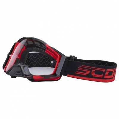 Scorpion Crossbrille E21, rot-schwarz