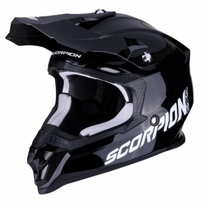 Scorpion Crosshelm VX-16 Air Solid, schwarz