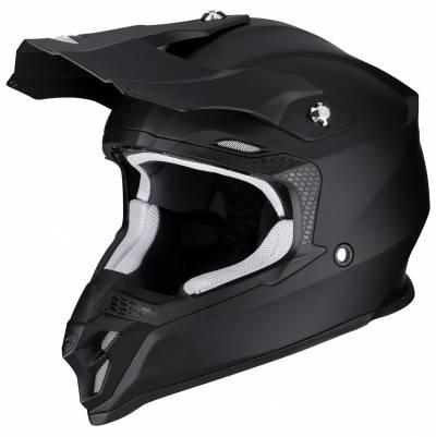 Scorpion Crosshelm VX-16 Air Solid, schwarz-matt