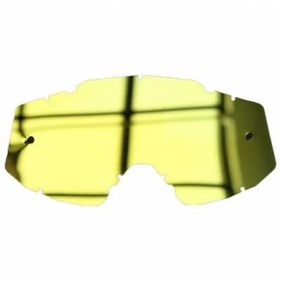 Scorpion Ersatzglas Goggles E18/REVO für E18 Brille, gold verspiegelt