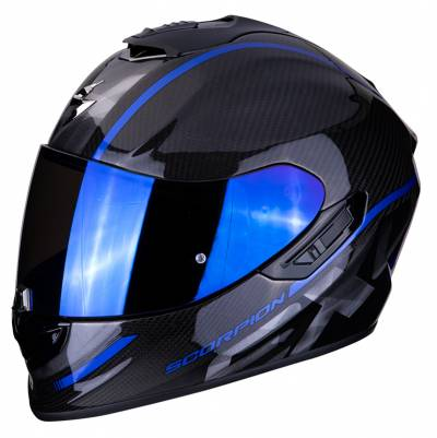 Scorpion EXO-1400 Air Carbon Grand, schwarz-blau