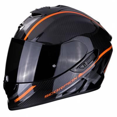 Scorpion EXO-1400 Air Carbon Grand, schwarz-orange