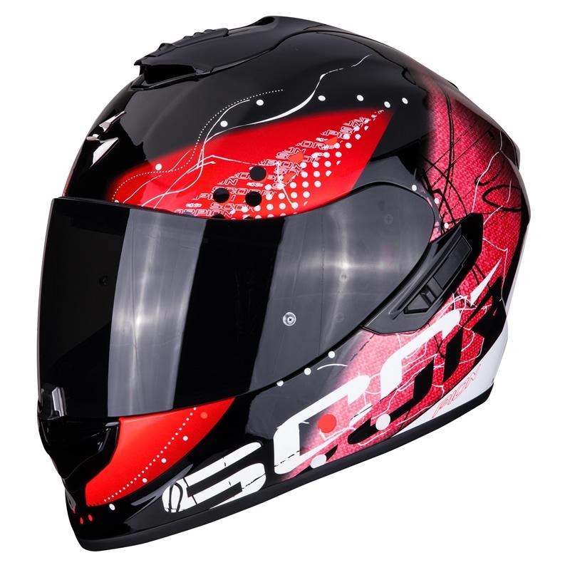 Scorpion EXO-1400 Air Classy, schwarz-weiß-rot