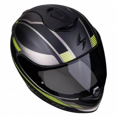 Scorpion EXO-1400 Air Free, schwarz-titan-fluogelb matt