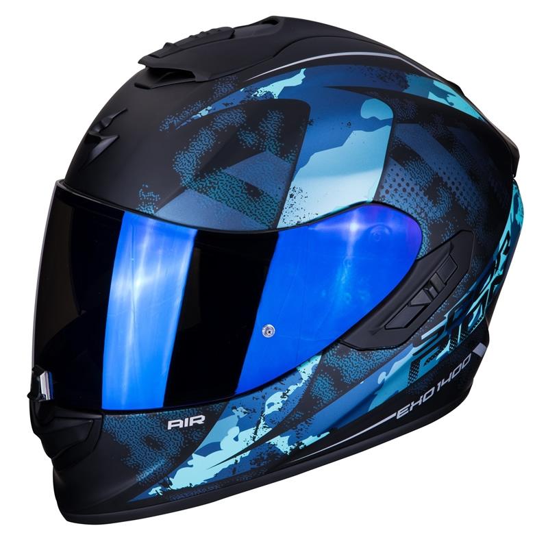 Scorpion EXO-1400 Air Sylex, schwarz-blau matt