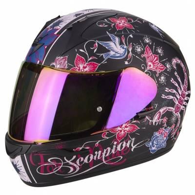 Scorpion EXO-390 Chica, schwarz-pink-matt