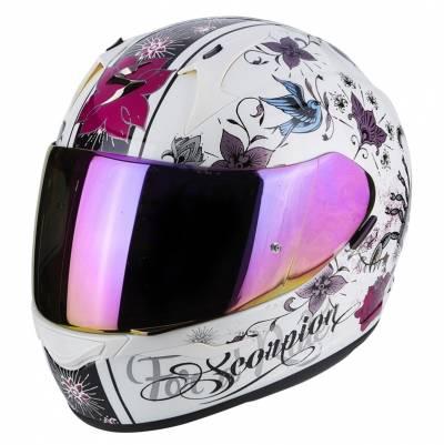 Scorpion EXO-390 Chica, weiß-schwarz-violett