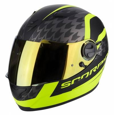 Scorpion EXO-490 Genesi, schwarz-fluogelb matt