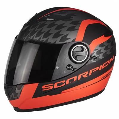 Scorpion EXO-490 Genesi, schwarz-fluorot matt