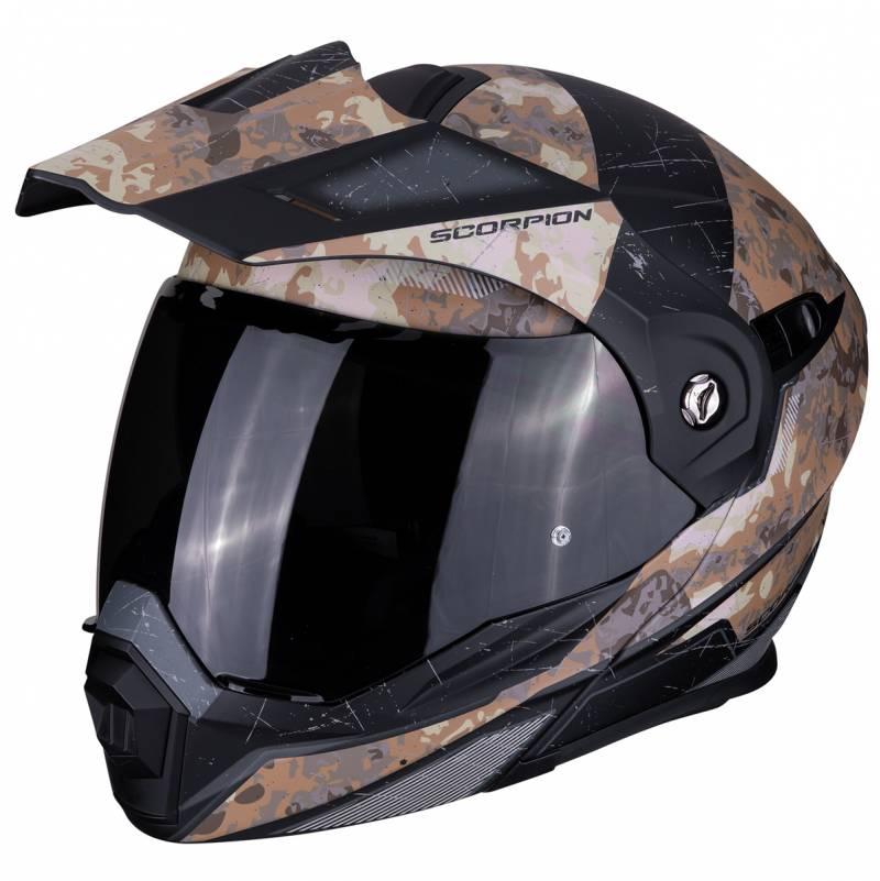 Scorpion Helm ADX-1 Battleflage, sand-silber