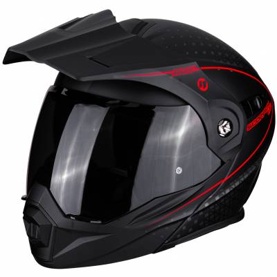 Scorpion Helm ADX-1 Horizon, schwarz-fluorot matt