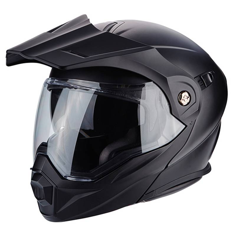 scorpion helm adx 1 solid matt schwarz moto. Black Bedroom Furniture Sets. Home Design Ideas
