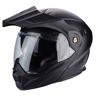 Scorpion Helm ADX-1 Solid, matt schwarz