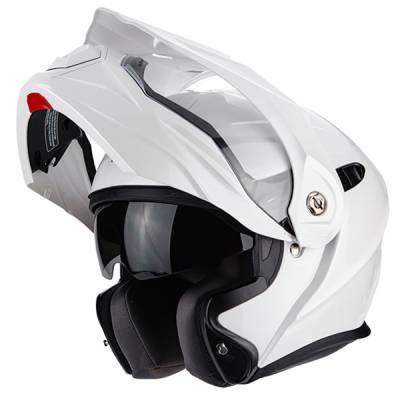 Scorpion Helm ADX-1 Solid, perlmutt weiß