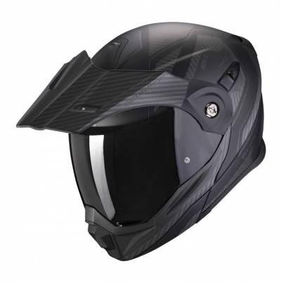 Scorpion Helm ADX-1 Tucson, schwarz-carbonschwarz matt