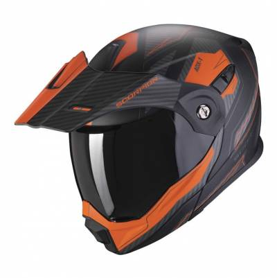 Scorpion Helm ADX-1 Tucson, schwarz-orange matt