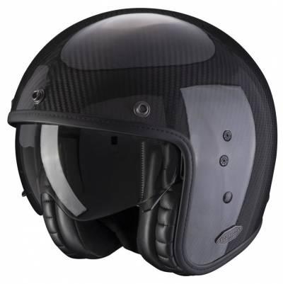 Scorpion Helm Belfast Carbon, schwarz glanz