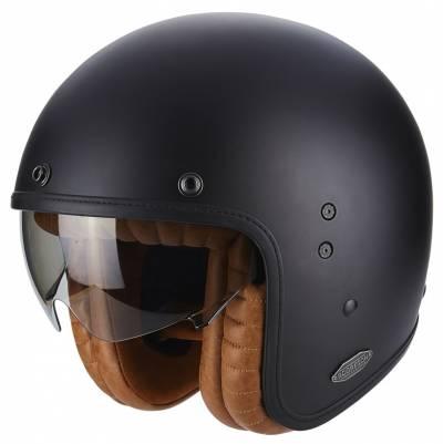 Scorpion Helm Belfast Luxe, schwarz matt