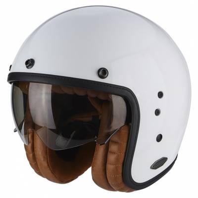 Scorpion Helm Belfast Luxe, weiß