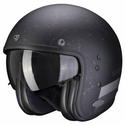 Scorpion Helm Belfast Shift, schwarz-silber matt