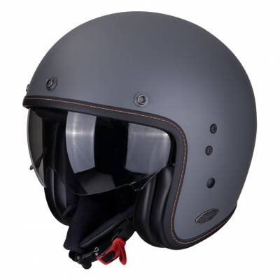 Scorpion Helm Belfast Solid, grau matt