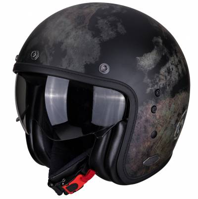Scorpion Helm Belfast Tempus, schwarz-grau-braun matt