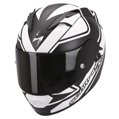 Scorpion Helm Exo-1200 Air Freeway, schwarz-weiß