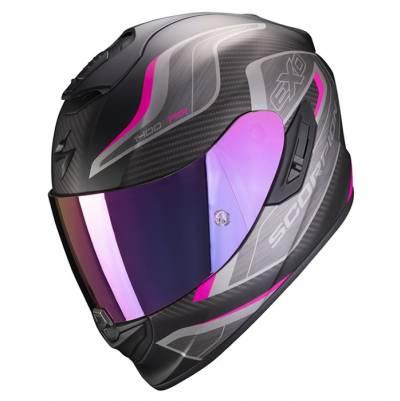 Scorpion Helm Exo-1400 Air Attune, matt schwarz-pink