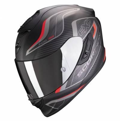 Scorpion Helm Exo-1400 Air Attune, schwarz-rot matt
