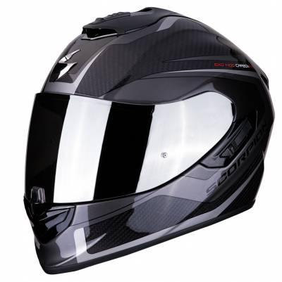 Scorpion Helm EXO-1400 Air Carbon Esprit, schwarz-silber