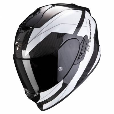 Scorpion Helm Exo-1400 Air Carbon Legione, weiß