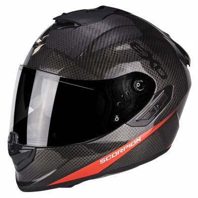 Scorpion Helm EXO-1400 Air Carbon Pure, schwarz-fluorot