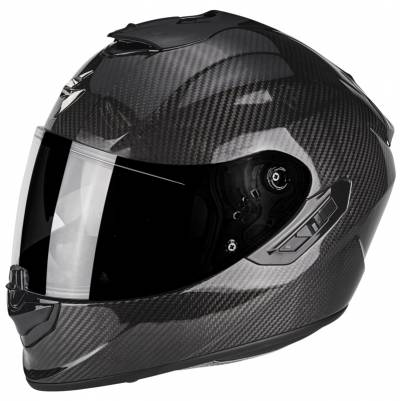 Scorpion Helm EXO-1400 Air Carbon Solid, schwarz