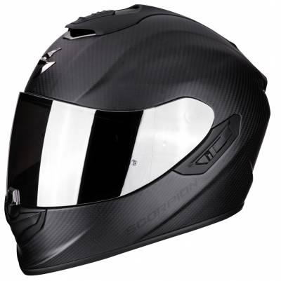 Scorpion Helm EXO-1400 Air Carbon Solid, schwarz-matt
