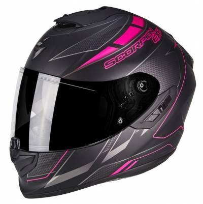 Scorpion Helm EXO-1400 Air Cup, matt schwarz-chamaeleon-pink