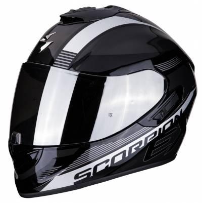 Scorpion Helm EXO-1400 Air Free, schwarz-silber