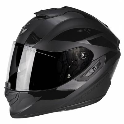 Scorpion Helm EXO-1400 Air Freeway 2, schwarz matt-schwarz