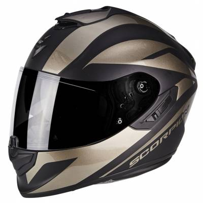 Scorpion Helm EXO-1400 Air Freeway 2, schwarz matt-titan