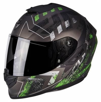 Scorpion Helm EXO-1400 Air Picta, matt grau-grün
