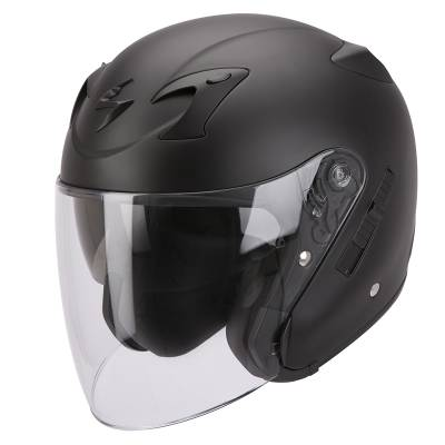 Scorpion Helm Exo-220 Solid, schwarz-matt