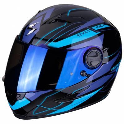 Scorpion Helm EXO-490 Nova, schwarz-blau