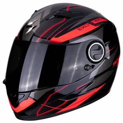 Scorpion Helm EXO-490 Nova, schwarz-rot